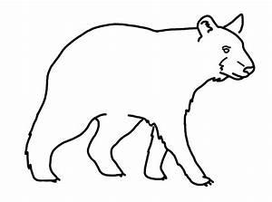 Standing Black Bear Drawing   Clipart Panda - Free Clipart ...