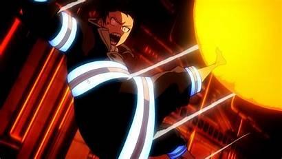 Force Fire Season Anime Episode Shinra Demon