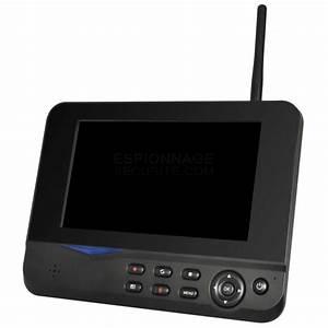 Camera Wifi Exterieur Sans Fil : 4 cam ras ip wifi ext rieur sans fil avec cran 7 ~ Melissatoandfro.com Idées de Décoration