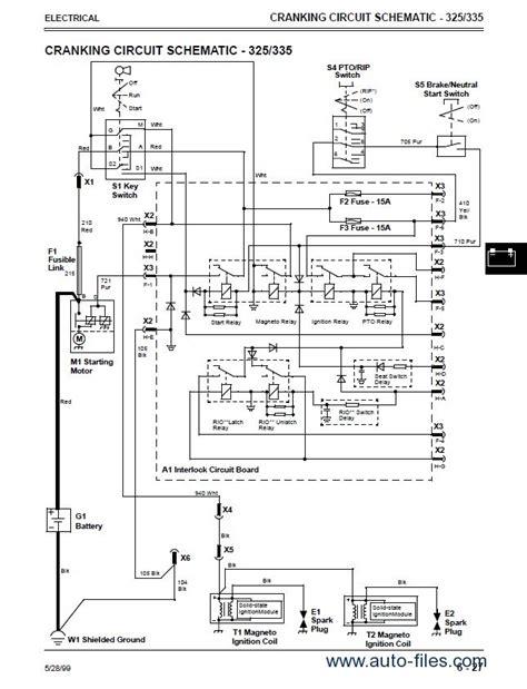 john deere  wiring schematic diagrams