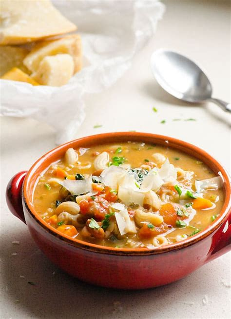 hearty minestrone soup ifoodreal