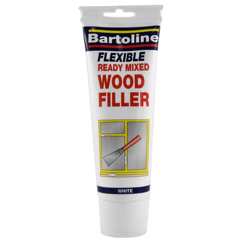 bartoline ready mixed wood filler  white