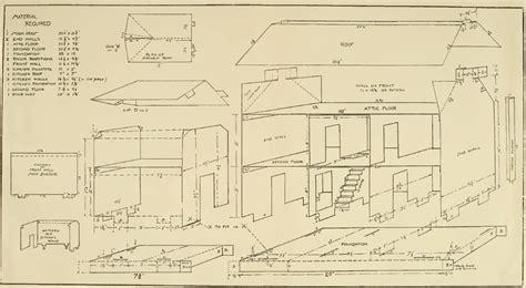 build a doll house plans home deco plans