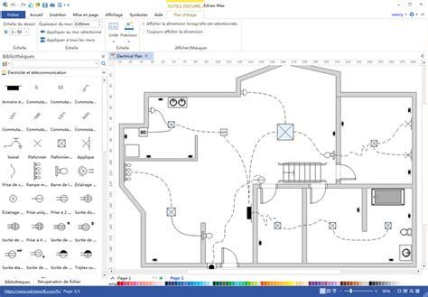 plan electrique chambre comment faire un plan de câblage éléctrique maison