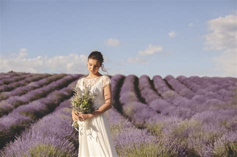 Brunch Wedding Inspiration Among Italys Lavender Fields