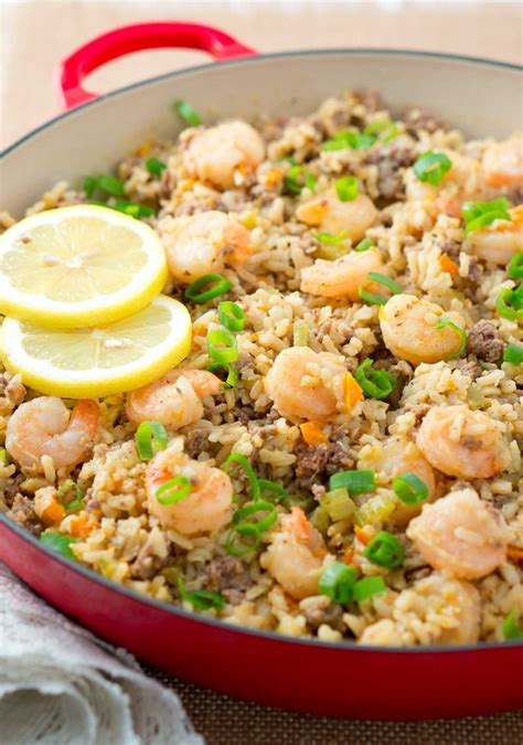 Easy Dirty Rice With Shrimp  Delicious Meets Healthy