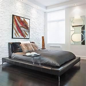Style Contemporain : chambre minimaliste au style contemporain chambre ~ Farleysfitness.com Idées de Décoration