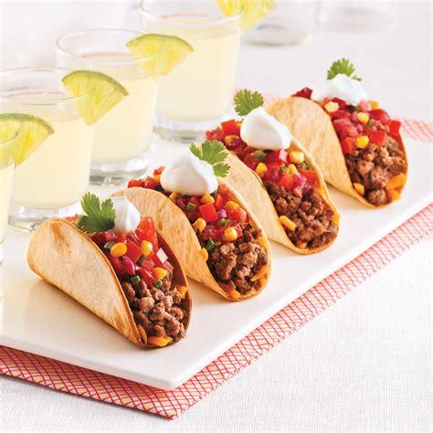 hache de cuisine mini tacos recettes cuisine et nutrition pratico