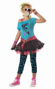 80u0026#39;s Valley Girl Tween Costume - PureCostumes.com