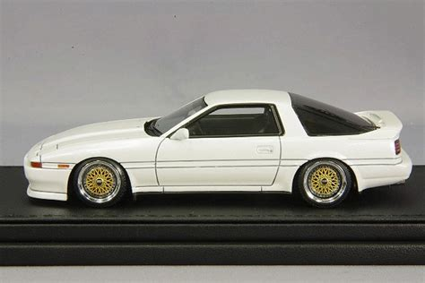 Ignition Model 1/43 Toyota Supra 3.0 Gt A70 White Bbs Rs