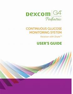 Dexcom G4 Platinum User Manual Pdf Download