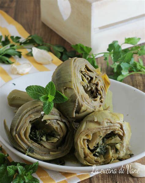 ricette per cucinare carciofi carciofi alla romana ricetta gustosa per cucinare i