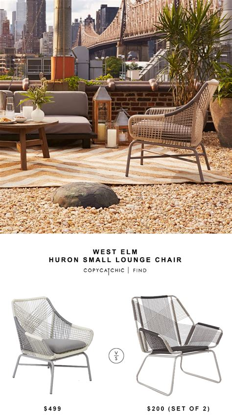 west elm huron large lounge chair copycatchic