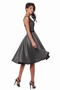 robe bustier longue en lainage grise et noire robesoiree With robe noire grise