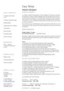 interior design graduate resume construction cv template description cv writing