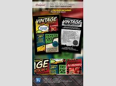 Vintage Comic Book Event Flyer Template GraphicRiver