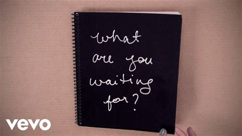What Of Are You by Nickelback What Are You Waiting For Lyric