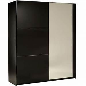 Armoire Noire Pas Cher : armoire noir laque ~ Teatrodelosmanantiales.com Idées de Décoration