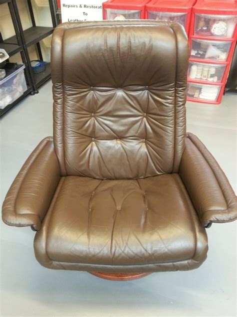 Ekornes Stressless Chair Repairs  Leather Repair Company