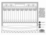 Stage Coloring Paramount Drawing Recent sketch template