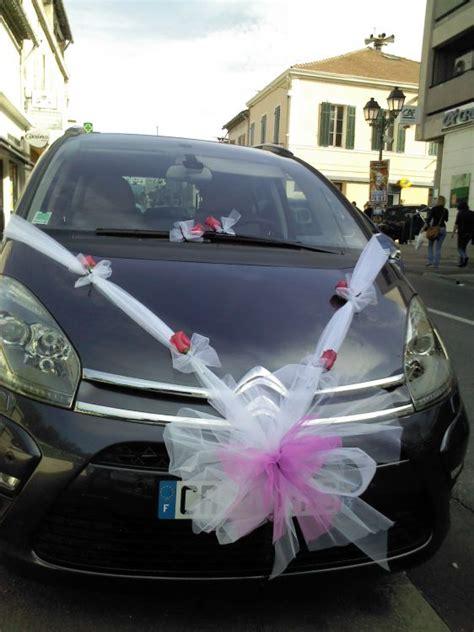 decoration capot voiture mariage d 233 coration de voitures pour mariage plan de cuques fleurs