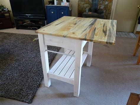 handmade kitchen island table  sawtooth creations custommadecom