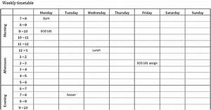 Study Planner And Timetable