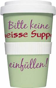 Coffee To Go Becher Porzellan : thermobecher coffee to go becher bitte keine hei e ~ Watch28wear.com Haus und Dekorationen