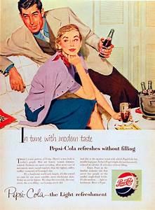 Pepsi Vintage Ads From 1950 U0026 39 S