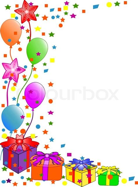 happy birthday background stock vector colourbox