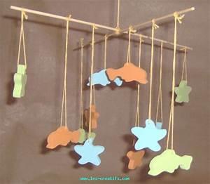 Mobile Chambre Bébé : mobile en bois pour chambre d 39 enfant ~ Teatrodelosmanantiales.com Idées de Décoration
