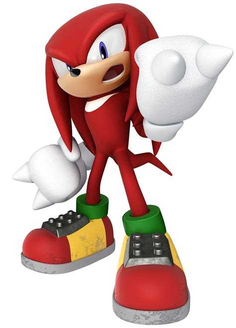 Knuckles the Echidna Art - Sonic & Sega All-Stars Racing ...