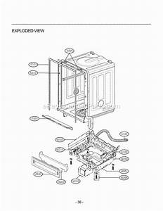 Lg Ldf6920st Parts List And Diagram
