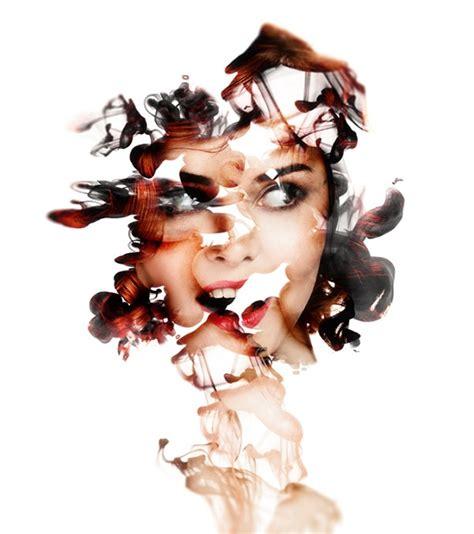 abstract portrait manipulation  photoshop cs