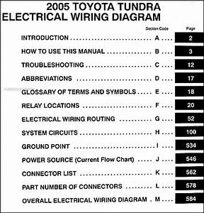 2009 Toyota Tundra Electrical Wiring Diagram Manual