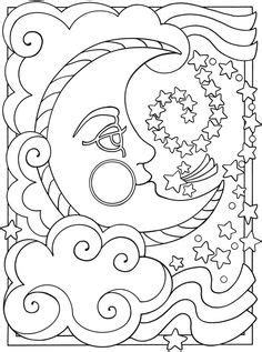 sun moon coloring page | kid stuff | Pinterest | Coloring