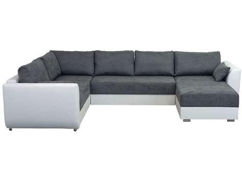 canape gris blanc conforama canapé d 39 angle droit fixe 8 places coloris gris