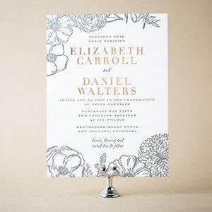 coriander letterpress foil stamped floral wedding With letterpress wedding invitations adelaide
