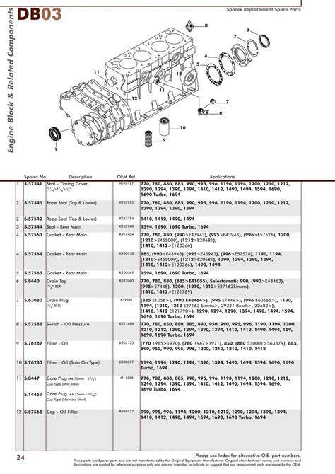 david brown 990 wiring diagram electrical website kanri info