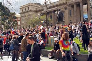 Labor, Greens join marriage equality activists at rally in ...