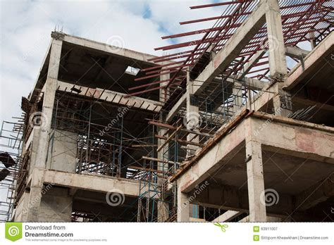 Construction Site Workers Stock Photo  Image 63911007