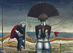 conroy flowers woman and flower 1923 by max ernst