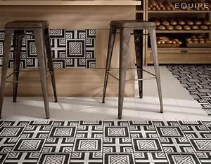 Art Et Carrelage : carrelage sol et mur c ciment imitation art deco 6 b w ~ Melissatoandfro.com Idées de Décoration