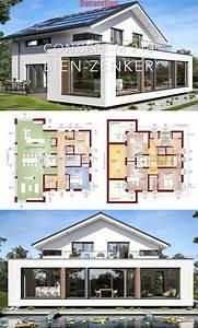 Modern, Villa, House, Plans, U0026, Interior, Architecture, Design, Concept