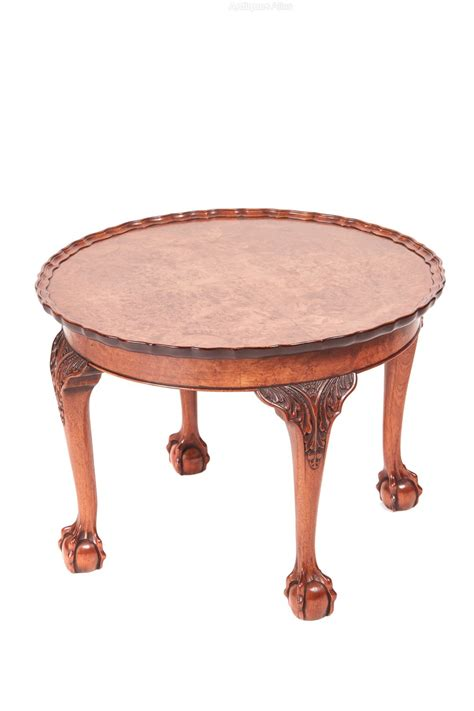 antique coffee table for antique burr walnut coffee table antiques atlas 7468
