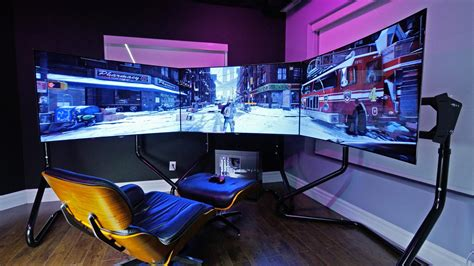 ultimate gaming setup the division youtube