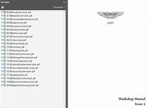 Aston Martin Db9 Workshop Service Manual Repair Manual