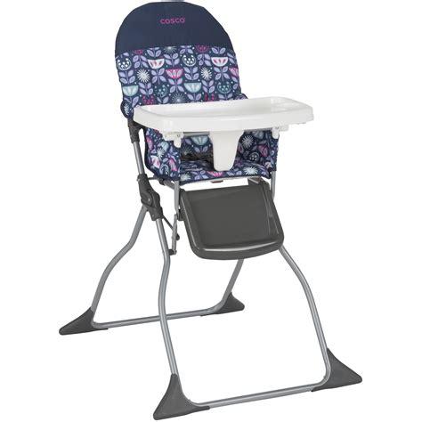 cosco simple fold high chair poppy field