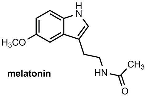 hormone pills organic chemistry how does melatonin put you to