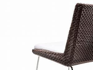 Polster Für Gartenstühle : metallstuhl mit geflochtenem leder herausnehmbare polster idfdesign ~ Markanthonyermac.com Haus und Dekorationen